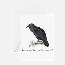 Edgar Allen Poe Halloween Card