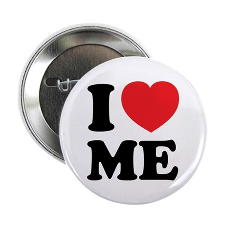 """I LOVE ME 2.25"""" Button (100 pack)"""