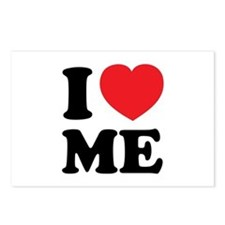 I LOVE ME Postcards (Package of 8)