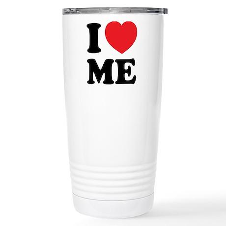 I LOVE ME Stainless Steel Travel Mug