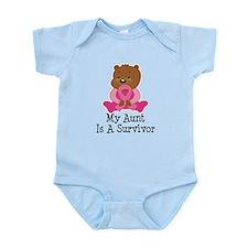 Breast Cancer Survivor Aunt Infant Bodysuit