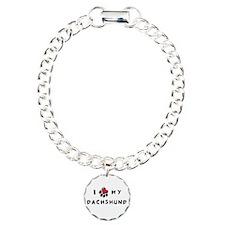 I *heart* My Dachshund Bracelet