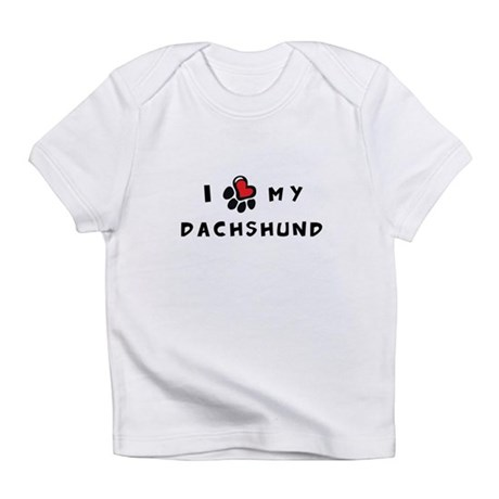 I *heart* My Dachshund Infant T-Shirt
