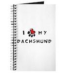 I *heart* My Dachshund Journal