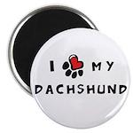 I *heart* My Dachshund Magnet