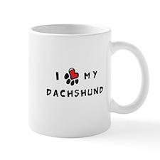 I *heart* My Dachshund Mug