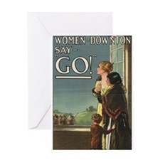 Women of Downton Greeting Cards