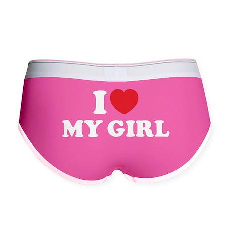 I LOVE MY GIRL Women's Boy Brief