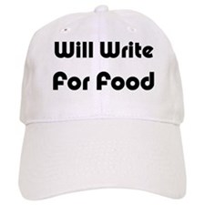 Will Write For Food Hat
