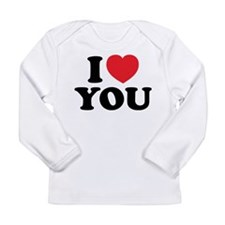 I LOVE YOU Long Sleeve Infant T-Shirt