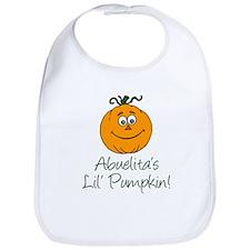 Abuelita's Little Pumpkin Bib