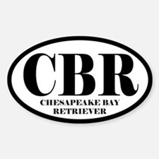 CBR Abbreviation Chesapeake Bay Retriever Decal