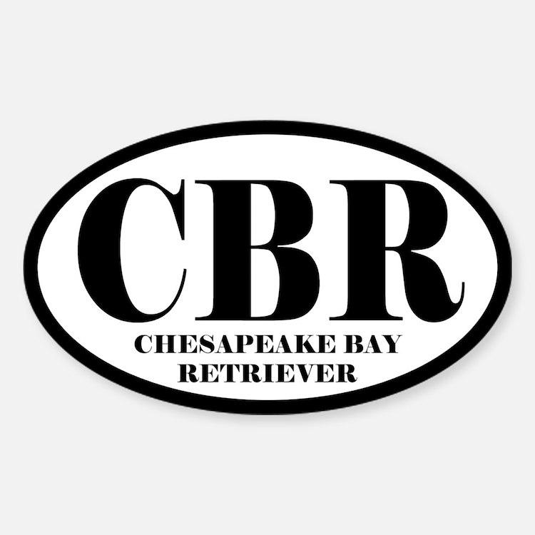 CBR Abbreviation Chesapeake Bay Retriever Decal