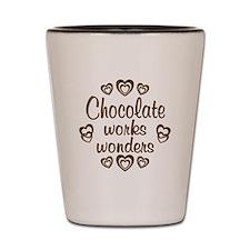 Chocolate Wonder Shot Glass