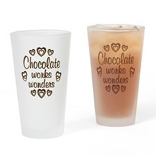 Chocolate Wonder Drinking Glass
