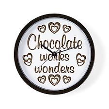 Chocolate Wonder Wall Clock
