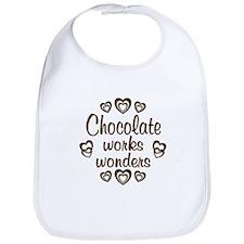 Chocolate Wonder Bib