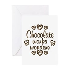 Chocolate Wonder Greeting Card