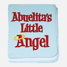 Abuelita's Little Angel baby blanket