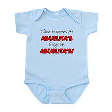 What Happens At Abuelita's Infant Bodysuit