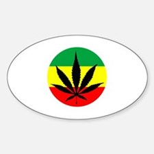 Rasta Marijuana Decal