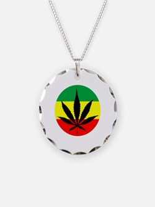 Rasta Marijuana Necklace