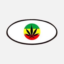 Rasta Marijuana Patches
