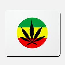 Rasta Marijuana Mousepad
