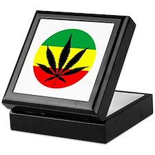 Rasta Marijuana Keepsake Box