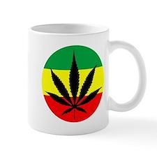 Rasta Marijuana Small Mug
