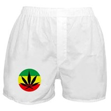 Rasta Marijuana Boxer Shorts