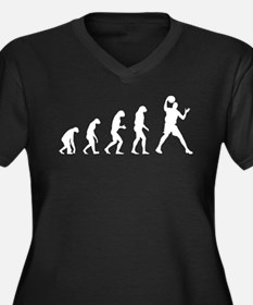 Evolution basketball Women's Plus Size V-Neck Dark