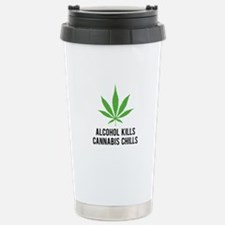 Cannabis Chills Travel Mug