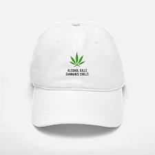 Cannabis Chills Baseball Baseball Cap