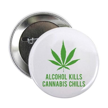 "Cannabis Chills 2.25"" Button (10 pack)"
