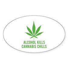 Cannabis Chills Decal