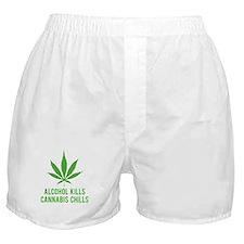 Cannabis Chills Boxer Shorts