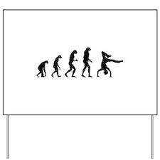 Evolution breakdance Yard Sign