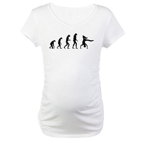 Evolution breakdance Maternity T-Shirt