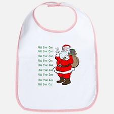 Add Your Own Text Santa Bib