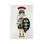 Cute Roman Soldier Magnet (10 Pk