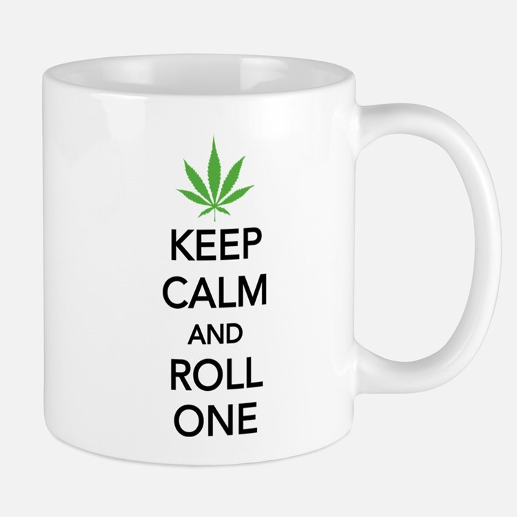 Keep calm and roll one Mug