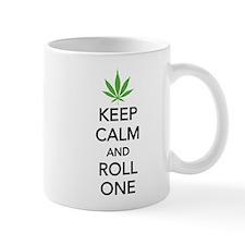 Keep calm and roll one Small Mug