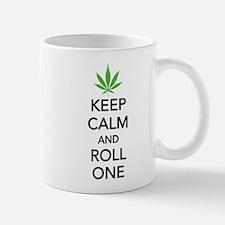 Keep calm and roll one Small Small Mug