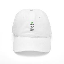 Keep calm and roll one Baseball Cap