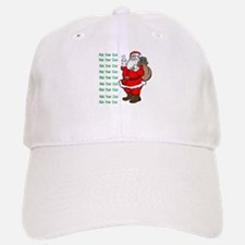 Add Your Own Text Santa Baseball Baseball Cap