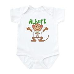 Little Monkey Albert Infant Bodysuit