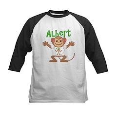 Little Monkey Albert Kids Baseball Jersey