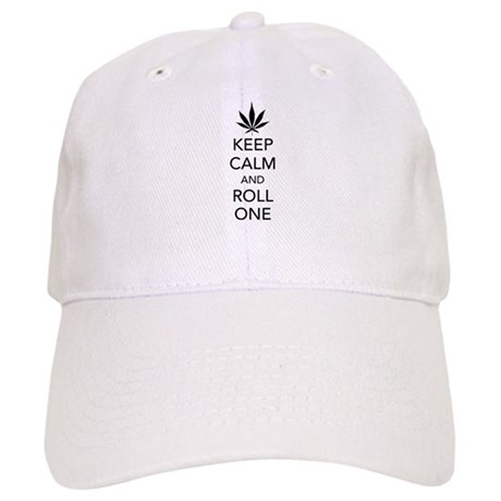Keep calm and roll one Cap