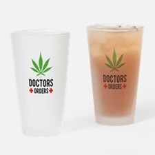 Doctors Orders Drinking Glass